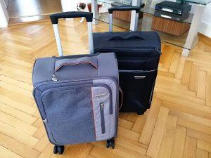 2 Handgepäck-Koffer mit Rollen