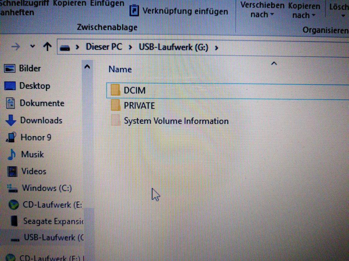 Ein neues USB-Laufwerk erscheint in Ihrem Datei-Explorer auf PC oder Laptop