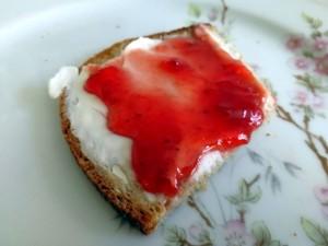 ein Marmeladenbrot