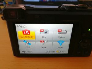Digitalkamera mit einem LCD-Monitor