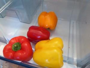 Gemüse im Gemüsefach
