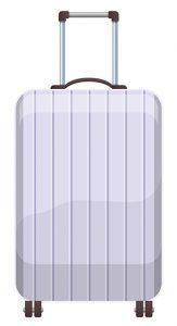 Illustration: Pilotenkoffer aus Aluminium