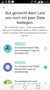 Fitbit App Screenshot
