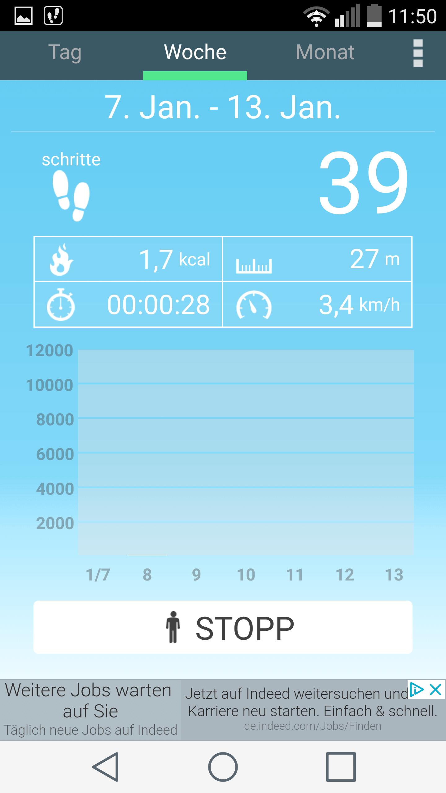 App zum abnehmen mit armband