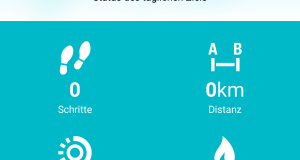Screenshot Aktivitäts-Guide Polar Flow App
