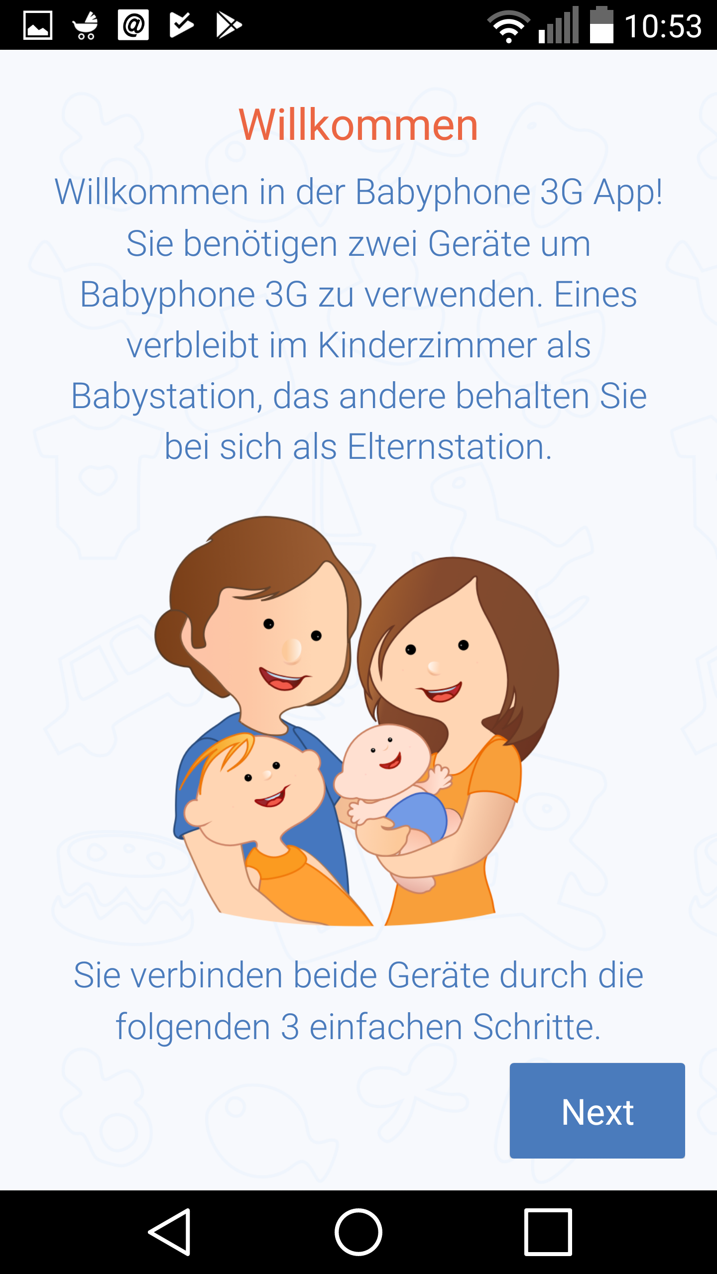 die beste babyphone app im test funktionen vorteile und. Black Bedroom Furniture Sets. Home Design Ideas