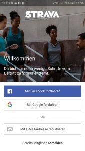 App Strava von Garmin
