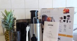 Der Aicok Entsafter mit Lieferumfang