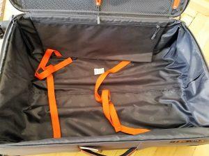 Aldi Koffer Innenraum