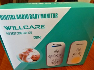 Das Babyphone von Willcare verpackt
