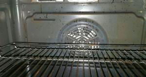 Verschmutzer Ofen Innen