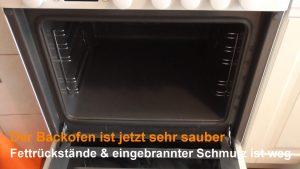 Backofen reinigen - Wie Sie den Ofen mit Essig und Backpulver sauber ...