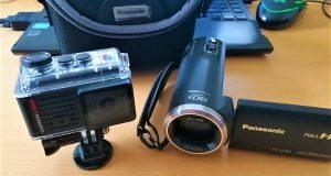 Camcorder und Action-Cam