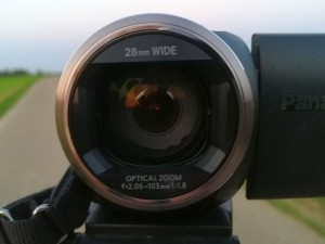 Camcorder Objektiv mit Linse