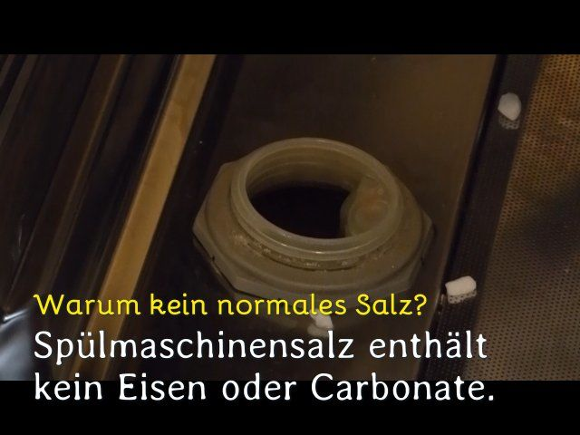 Deckel des Salz-Behälters