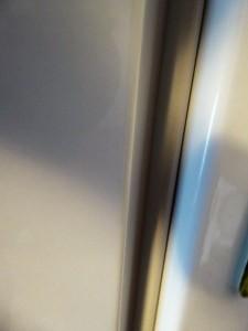geschlossene Kühlschrank Tür