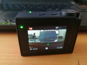 Display Action Cam