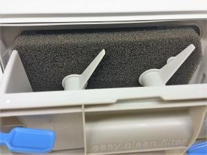 Filter bei einem Wärmepumpentrockner