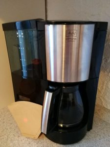 Filterkaffeemaschine mit Kaffeefilter