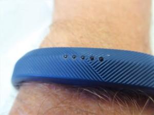 Fitness-Armband am Handgelenk