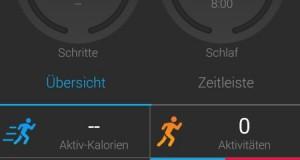 Die App zum Garmin Fitnessarmband