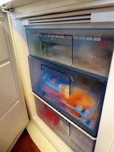 Eine Kühl-Gefrierkombination