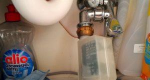 Geschirrspüler Wasserhahn Anschluss