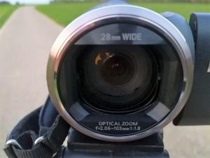 Starkes Objektiv mit gutem Bildsensor und Zoom