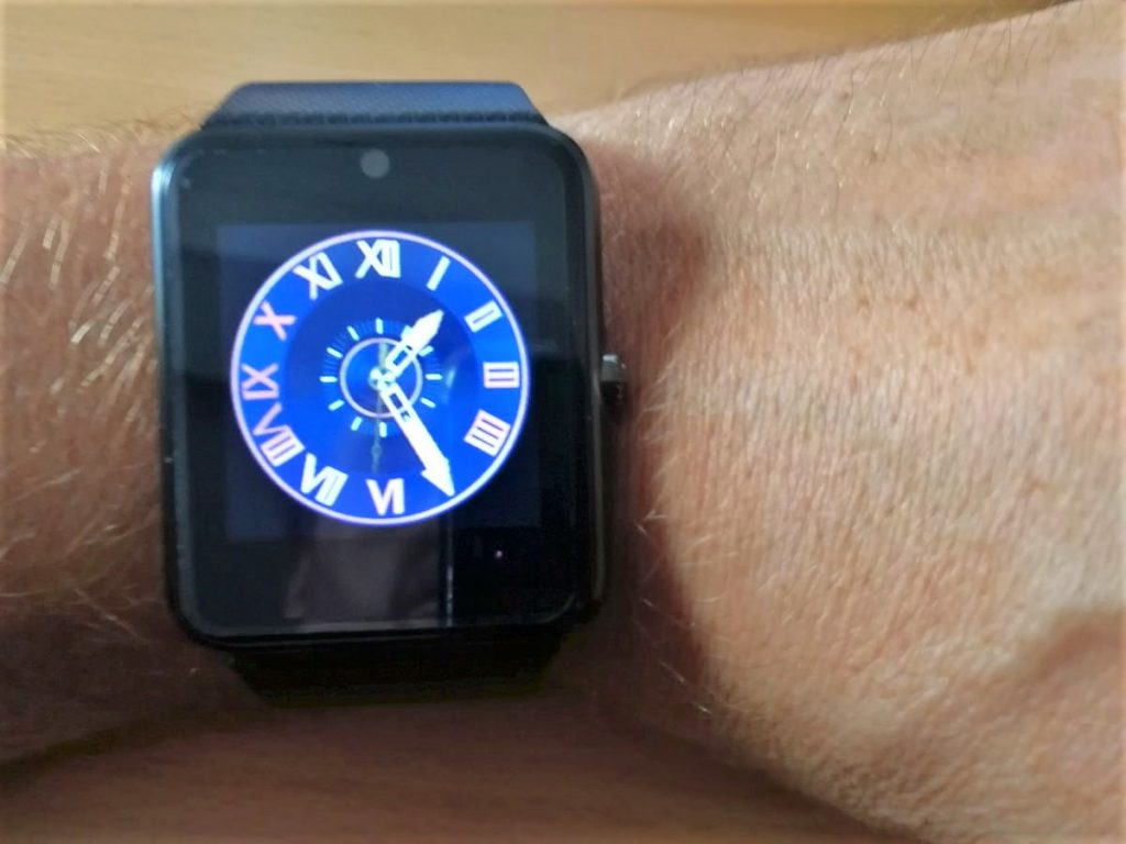 Ziffernblatt Smartwatch