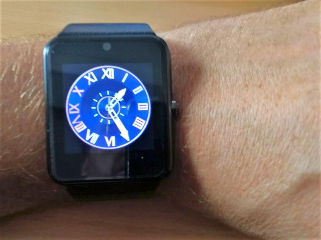 Ziffernblatt Smartwatch