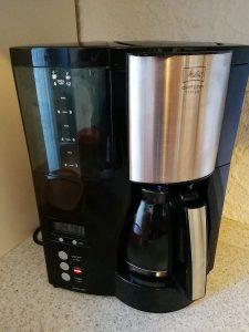 Melitta Optima Timer Filterkaffeemaschin