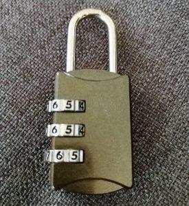 Koffer-Zahlenschloss