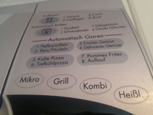 Kombi-Funktionen im Display
