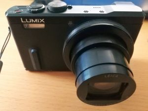 Eine Kompaktkamera von Panasonic