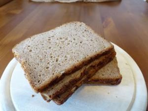 Leckeres Kürbiskernbrot aus einer Brotmaschine