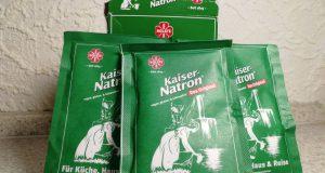 Packungen Natron