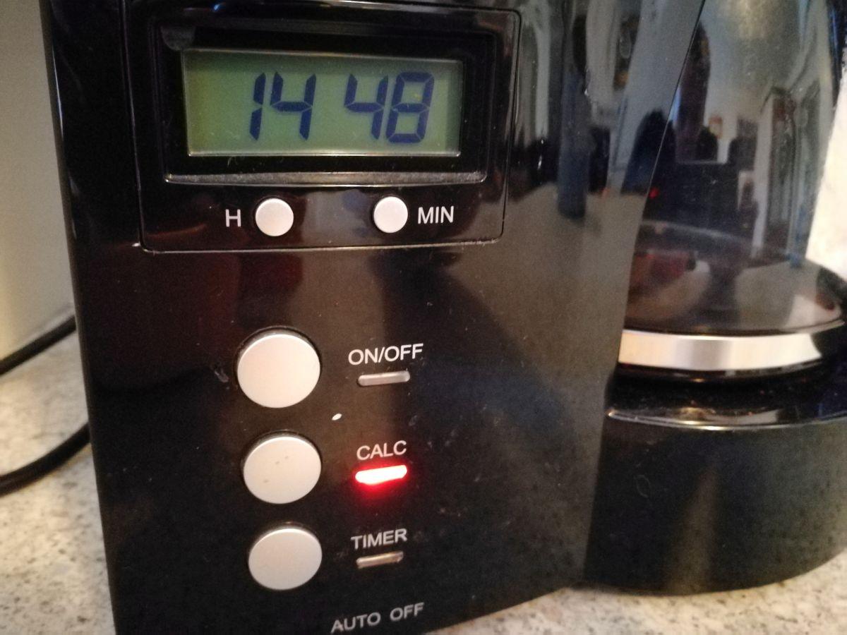 kaffeemaschine mit thermoskanne timer und abnehmbaren. Black Bedroom Furniture Sets. Home Design Ideas
