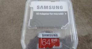 Micro-SD Speicherkarte für die Samsung Gear 360