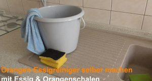 Orangen-Essigreiniger selber machen