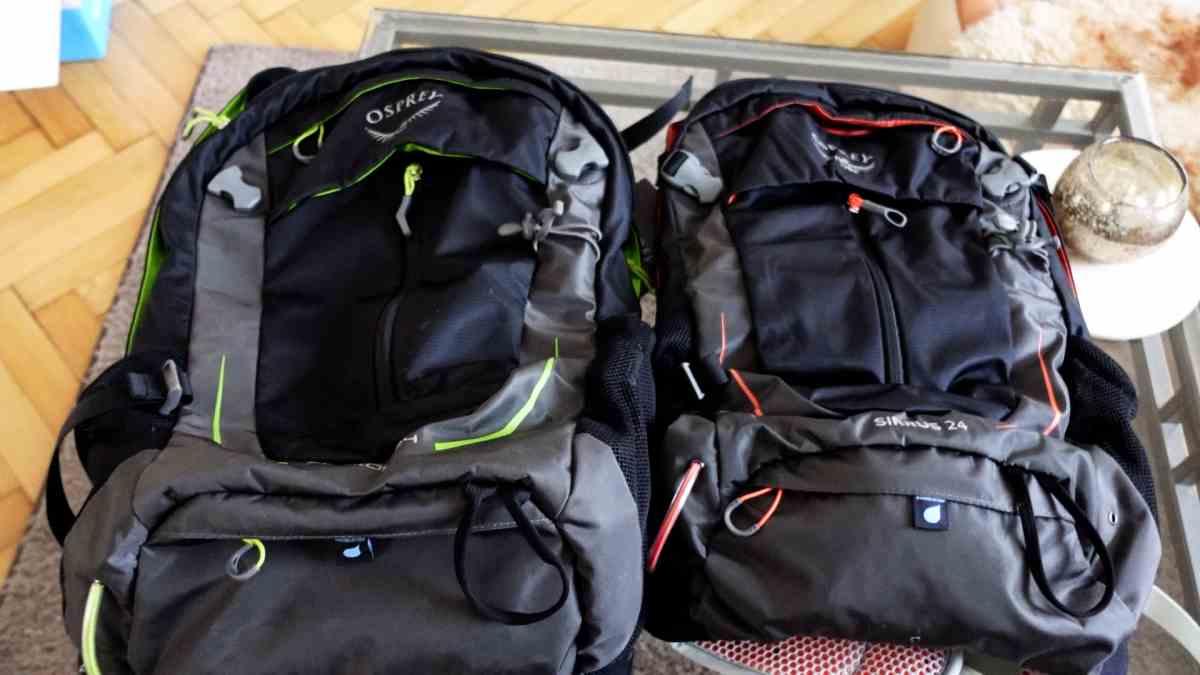 Wanderrucksack Stratos und Sirrus 24