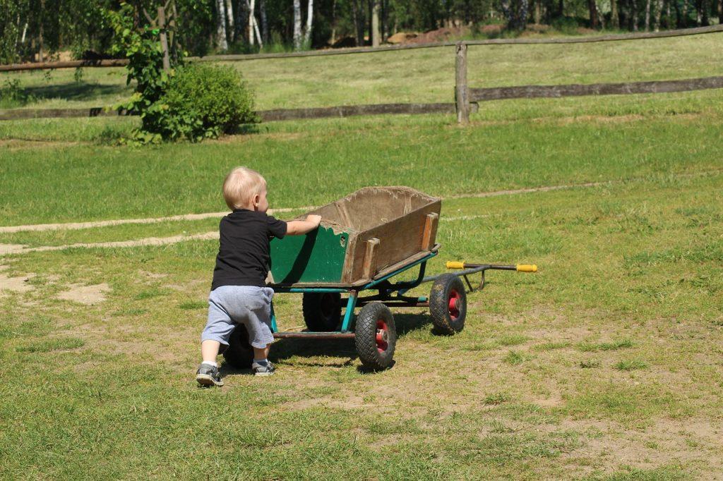 Rasen betreten