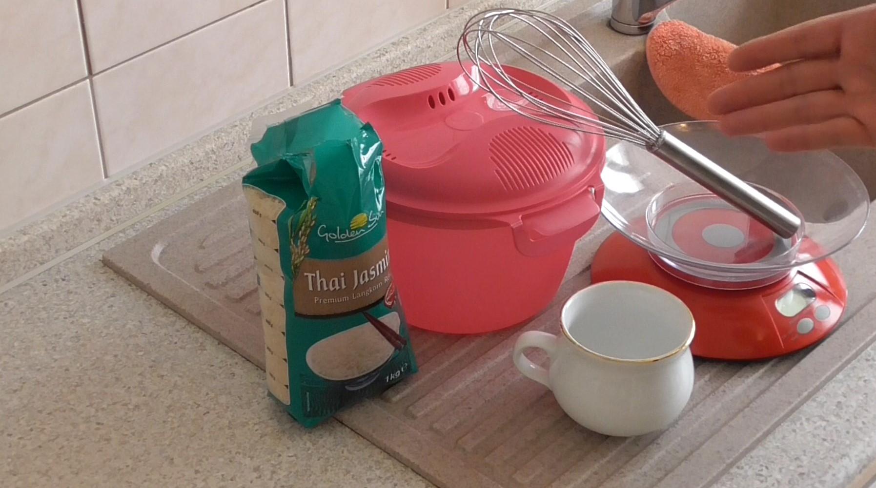 Mikrowellen reiskocher wie du einfach reis kochen kannst - Reis im reiskocher ...