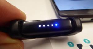 LEDs zeigen Schrittanzahl an