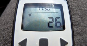 Activity-Tracker mit Anzeige der Schrittanzahl