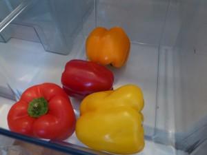 Gemüsefach bei einem Kühlschrank