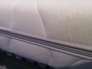 Seitliche Höhe einer Matratze