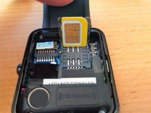 Yamay Smartwatch Sim-Karten-Slot