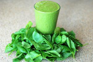 Perfekter grüner Smoothie