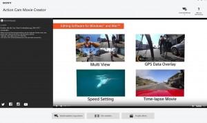 Screenshoot Software Action Cam Movie Creator