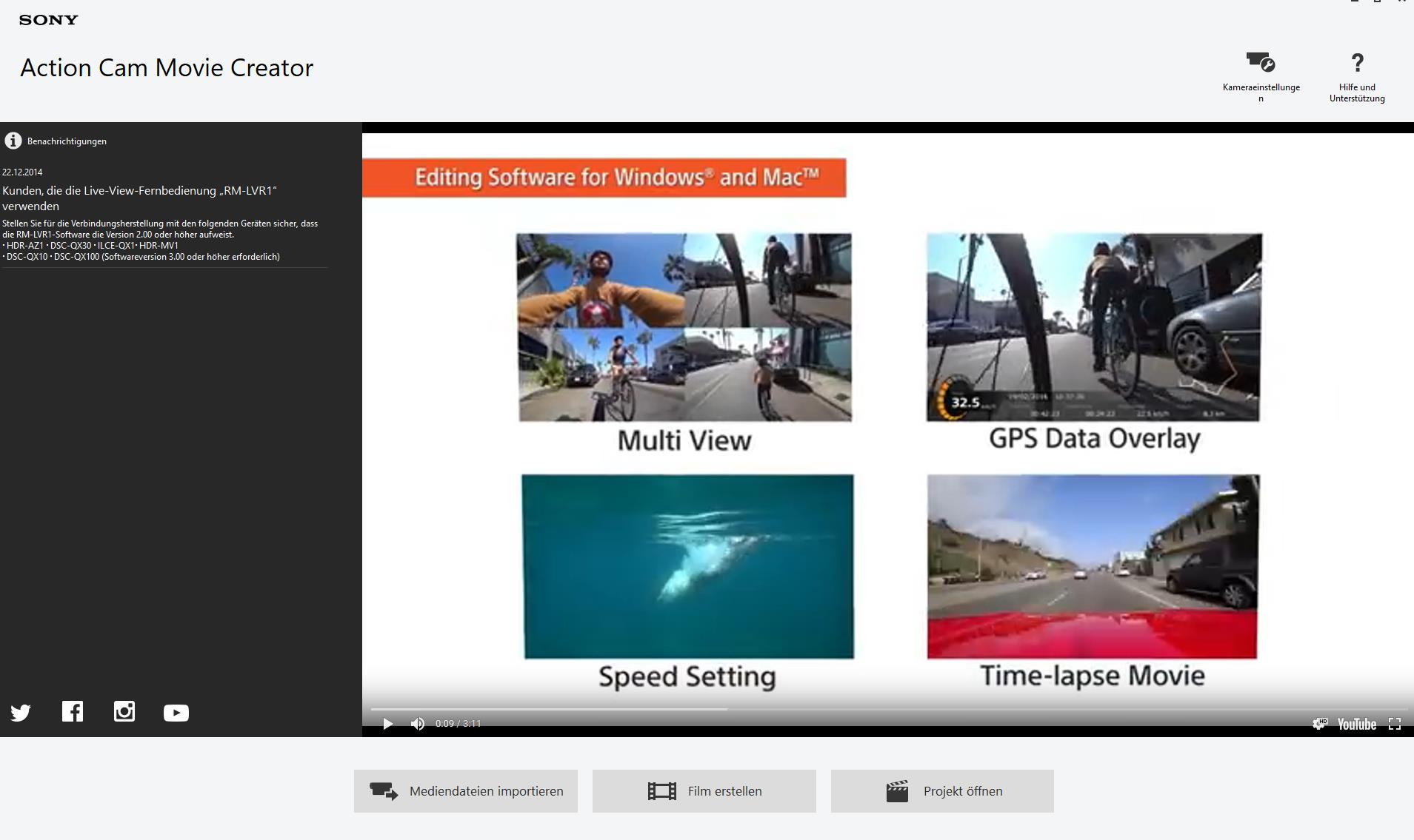 Sony FDR-X3000R 4K Action-Cam - Testsieger im Test bei Stiftung ...